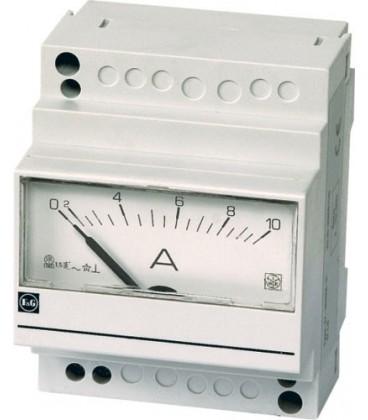Aparat de măsură analog pe şină DIN,voltmetru 0-500V CA