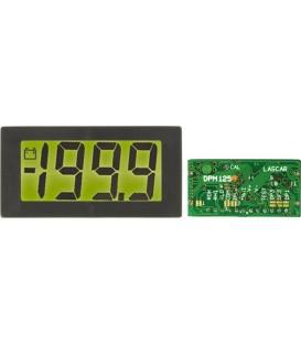 Aparat de măsură de panou, LCD retroiluminare DPM125-BL