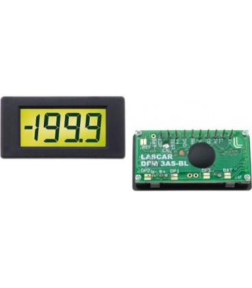 Voltmetru subminiatură cu LCD 3 1/2 cifre 0-200mV