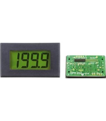 Voltmetru cu LCD 0-200mV, alimentare 7,5-14,0 V
