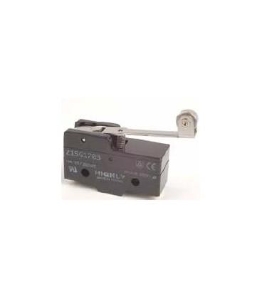 Microîntrerupător cu manetă (cu rolă) SPDT 15A/250VAC IP40 Z15G1703
