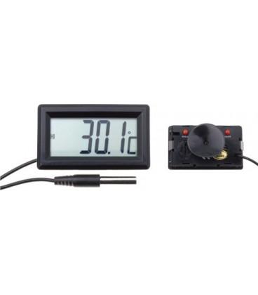 Termometru de panou -50°C - 70°C cu sondă