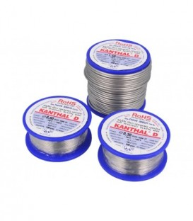 Nichelina 0,8mm -100÷1300°C Ambalaj:0,1kg KANTHAL-D-0.80/100