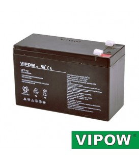 Baterie plumb-acid 12V 7Ah VIPOW