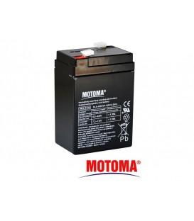 Baterie acumulator acid plumb sigilată 6V 4,5Ah MOTOMA MOTOMA 6V 4,5Ah