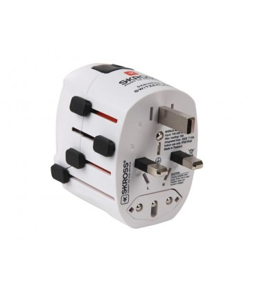 Adaptor de format de priza călătorie World Adapter Pro