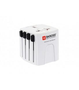 Adaptorul de călătorie SKROSS MUV Micro, de 2,5A, universal pentru 150 de țări