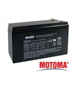 Acumulator 12V 9Ah MOTOMA APC RBC17 Baterie plumb acid sigilată MOTOMA-APC-RBC17-12V-9Ah