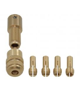 Mandrină cu pensete pt.maşină de găurit 0,3÷3,2mm D-1504