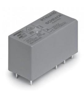 Releu: electromagnetic DPDT Ubobină:110VDC 8A/250VAC 8A/30VDC 7-1393243-5
