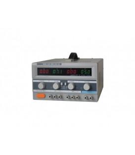Alimentator de laborator GLPS 3005E 2x0-30V / 0-5A + (5V-3A) sursa de tensiune reglabila GLPS3005E
