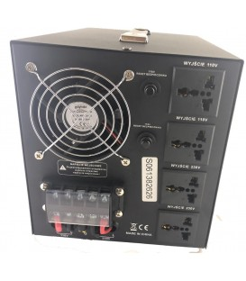 Transformator 220-110V AC Putere:5000VA VP-5000VA