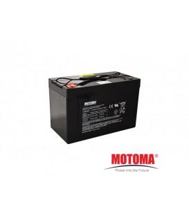 Sealed lead acid battery 12V 100Ah MOTOMA MOTOMA_12V_100AH