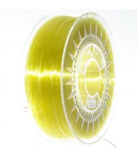 Filament PET-G galben deschis transparent 1kg ±0,5% DEV-PETG-1.75-BYT