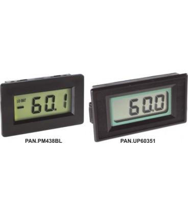 Aparat de măsură de panou digital, afişaj LCD 0-200mV