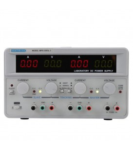 Alimentator: de laborator Canale:3 0÷30VDC 0÷3A 0÷30VDC 0÷3A AX-3003L-3
