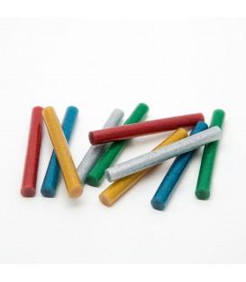 Baton termoadeziv - 11 mm - colorat, glitter 11109C