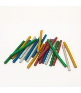 Baton termoadeziv - 7 mm - colorat, glitter 11108C