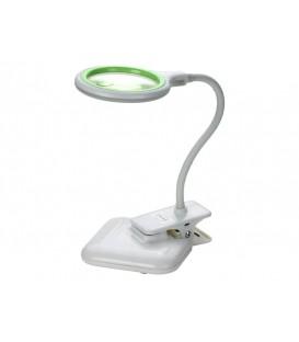 Lampă cu lupă bifocala pentru birou mic 3 + 12diop. LED (36x) USB 5V, 2W