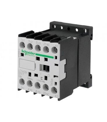 Contactor:tripolar 9A 110VAC LC1K0901F7