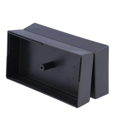 Carcasă universală neagră din polistiren, X:55mm Y:106mm Z:40mm, cod Z-7C/B