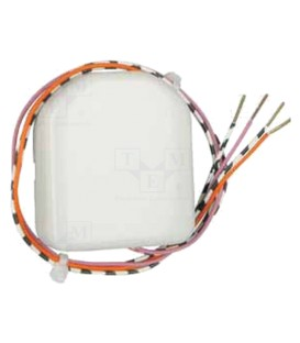 Transmitter with a binary input 2x signal contacts CBEU-02/02