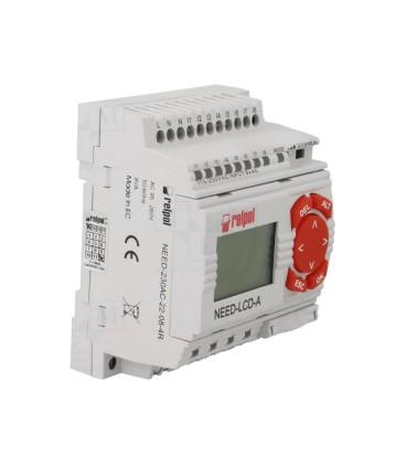 Relay 8input/4output relay power 230VAC keypad NEED230AC22084D