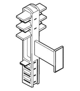 Conector intermodular pentru funcţionare în serie S8T-BUS02
