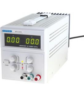 Bloc de alim., tensiune şi curent reglabile 0-60V/3A MPS-6003S