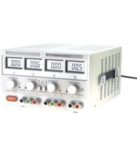 Alimentator: de laborator Canale:3 0÷30VDC 0÷5A 5V DC/3A AX-3005D-3