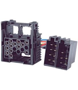 Connector radio, ISO BMW, Land Rover, Rover PIN:17