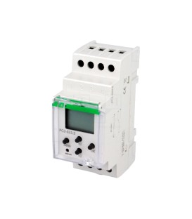 Timer on DIN rail mode, 2x250 settings PCZ-523