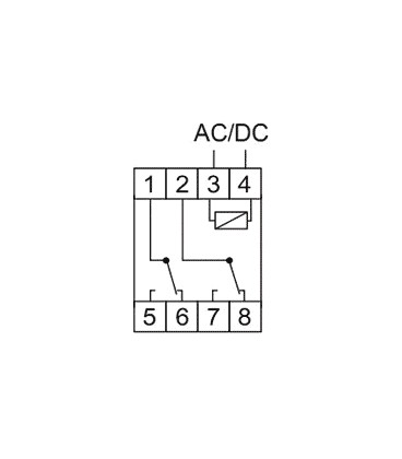 Timer on the DIN rail, astronomical, PCZ-526