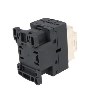 Contactor:tripolar Contacte auxiliare:NC,NO 9A 220VAC 4kW LC1D09M7