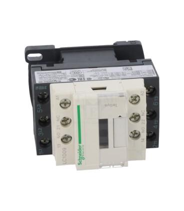 Contactor:bipolar Contacte auxiliare:NC,NO 9A 48VAC 4kW LC1D09E7