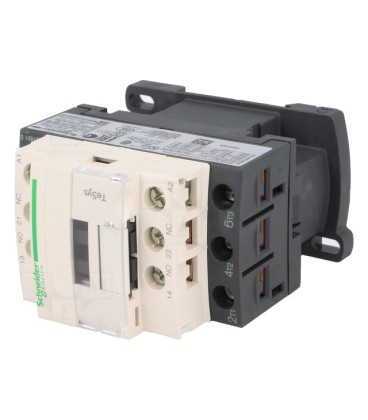 Contactor:tripolar Contacte auxiliare:NC,NO 9A 110VAC 4kW LC1D09F7