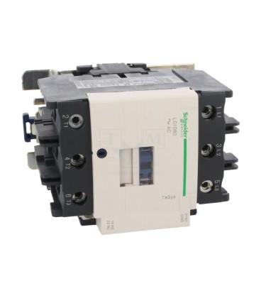 Contactor:tripolar Contacte auxiliare:NC,NO 80A 230VAC 37kW LC1D80P7