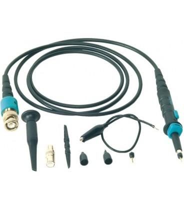 Sondă pentru osciloscop 1:1/1:10 + accesorii