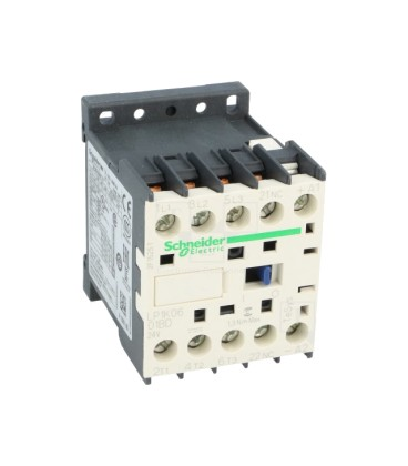 Contactor:tripolar Contacte auxiliare:NC 6A 24VDC 2,2kW LP1K0601BD