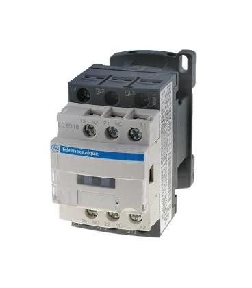 Contactor:tripolar Contacte auxiliare:NC,NO 18A 24VDC 7,5kW LC1D186BD