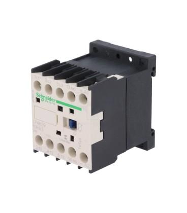 Contactor:tripolar Contacte auxiliare:NO 9A 24VDC 4kW LP4K0910BW3
