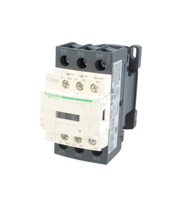 Contactor:tripolar 25A 110VAC 11kW LC1D25F7