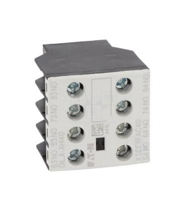 Accesorii pentru contactoare:contacte auxiliare DILA-XHI40