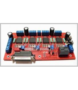 Driver Bipolar Microstep 4 Axis CNC4X25A
