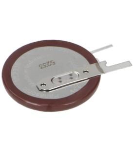 Acumul: Li VL2330 3V 50mAh Term:2pin Ø23x3,65mm -20÷60°C VL-2330/VCN