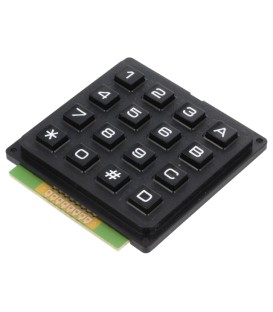 Tastatură: plastic Număr butoane: 16 nu există plastic 200mΩ