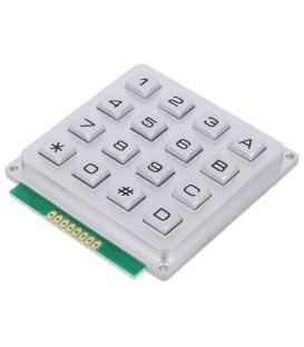Tastatură: metal Număr butoane: 16 nu există metal 200mΩ 1,2N