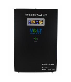 UPS Sursa de alimentare de urgență sine UPS 500 12V + 40Ah Aku montare pe perete