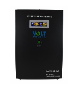 UPS Sinus de alimentare de urgență 800 12V + 55Ah Aku 3SR800WA55