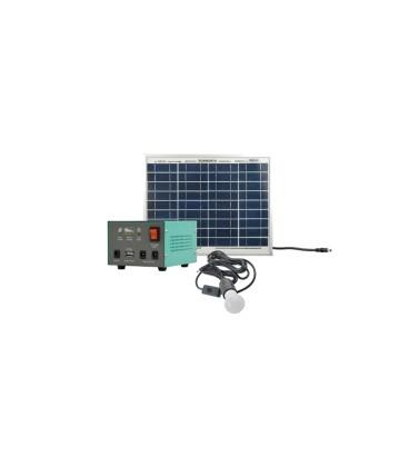 Set panou solar fotovoltaic portabil MOTOMA 10W (Li-Ion) lumina panou solar